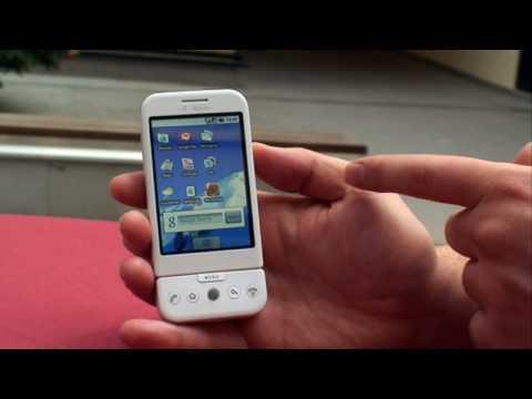 CNET.de - T-Mobile G1 Phone (HTC): Google Android-Handy - Test