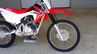 7. 2016 Honda CRF125F Big Wheel Dirt Bike / Motorcycle | Walk Around Video (CRF125FBG)