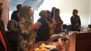 Hari Terakhir Mesyuarat Mingguan Pengurusan bersama Pengarah Dr Saadiah Abdul Samat...