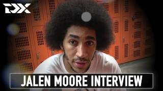 Jalen Moore Interview at the 2017 Portsmouth Invitational Tournament