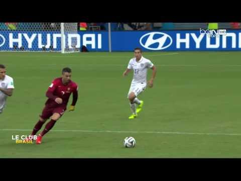 cristiano ronaldo cr7 contro gli usa - mondiali 2014