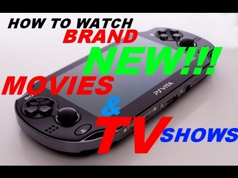 how to watch movies on ps vita