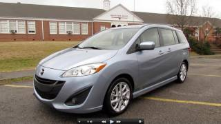 2012 Mazda5 Grand Touring Start Up, Exhaust, In Depth Review, And Test Drive