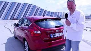Ford Focus 2011 Tests Latvijas Ceļos / Ford Focus Test Drive Latvia