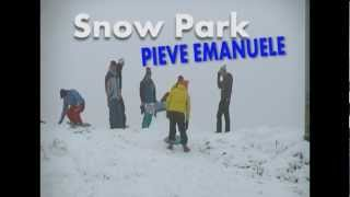 Pieve Emanuele Italy  city pictures gallery : SNOWBOARD FREESTYLE @ Pieve Emanuele 2012