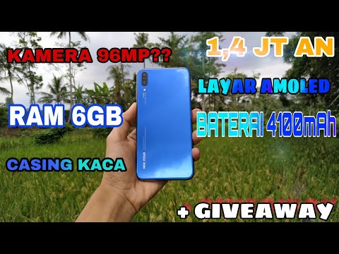 KAMERANYA 96MP?? RAM 6GB TERMURAH 🔥Layar AMOLED - UNBOXING NEW CLOUD