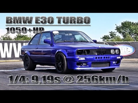 bmw e30 1050 hp: fastest bmw of the world!