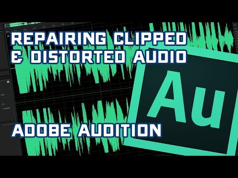 Fixing Distored & Clipped Audio with Adobe Audition CC