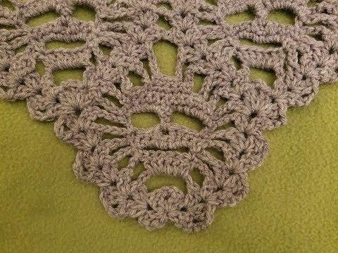 """The """"Lost Souls Skull Shawl"""" Pt. 4 Crochet Tutorial"""