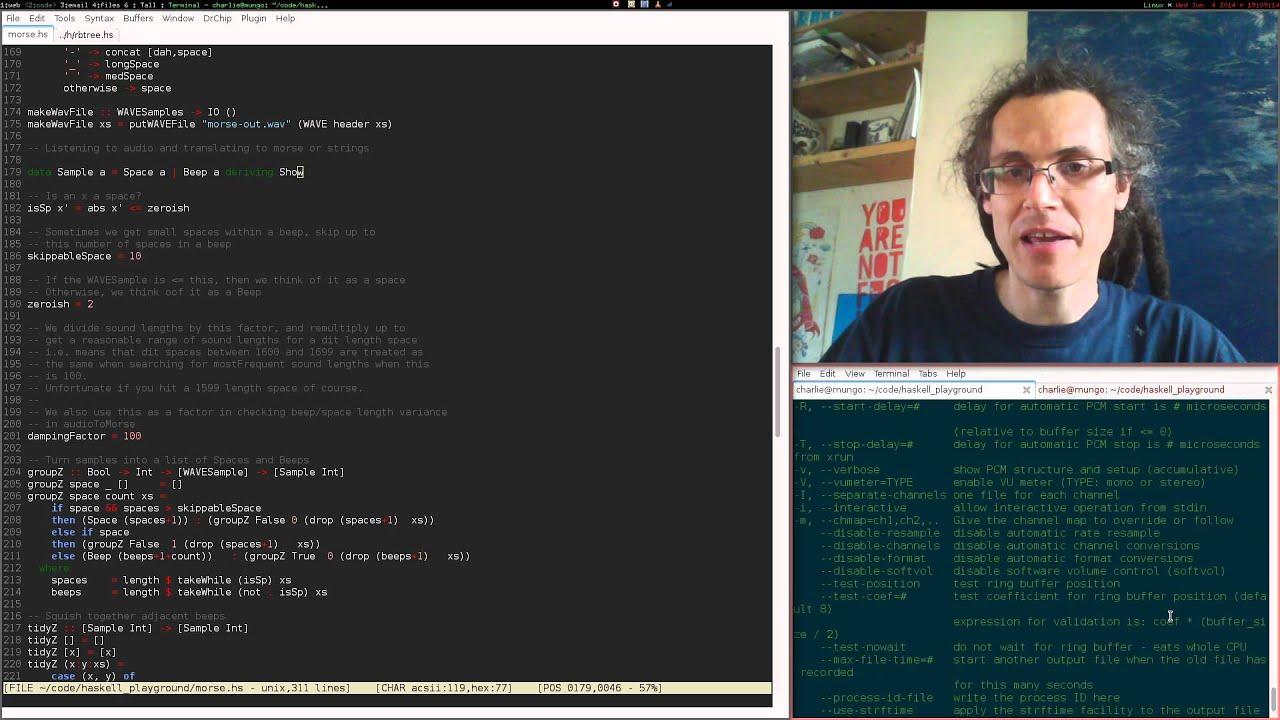 Morse code again — translating audio back to morse cover image