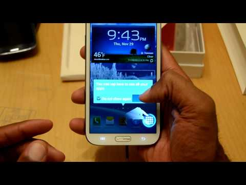 Samsung Galaxy Note II Marble White (Verizon) Unboxing