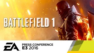 Battlefield 1 Singleplayer Campaign Trailer - E3 2016 EA Press Conference by GameSpot
