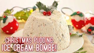 Christmas Pudding Ice Cream Bombe | Gemma's Bigger Bolder Baking by Gemma's Bigger Bolder Baking