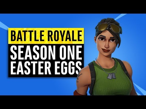 Fortnite Battle Royale | Season One Easter Eggs