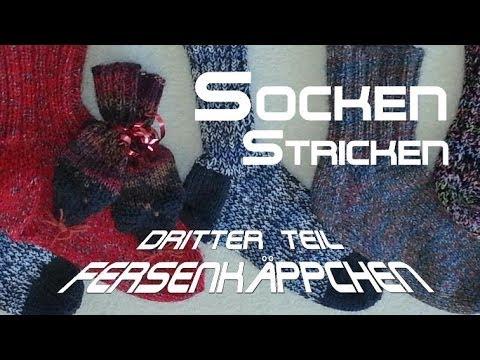 Socken stricken 3 * Fersenkäppchen – Anleitung – mit Christine