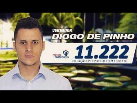 Chamada: Candidato a vereador em Indaial Diogo de Pinho