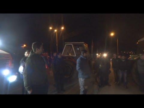 Νέο μπλόκο στην εθνική οδό Ιωαννίνων-Κακκαβιάς