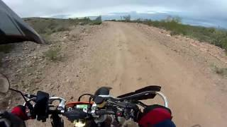 9. KTM525 EXC W/Rekluse, First Ride: Fast Track Little jump too