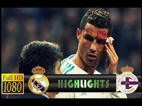 Real Madrid vs Deportivo 7-1 All Goals Highlights 21/01/2018 HD ENGLISH