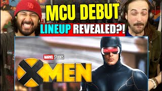 X-MEN MCU DEBUT LINEUP REVEALED? | REACTION! by The Reel Rejects