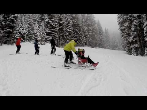 Ski day with Erik Schroeder and his family.