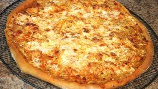 Pizza de Pollo con Salsa Búfalo | Buffalo Chicken Pizza | Sabor en tu Cocina