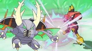 Mega Pinsir Slays Legends | Pokemon Ultra Sun & Moon Wifi Battle