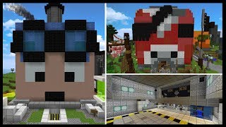 INSIDE YOUTUBERS MINDS [5] | Minecraft Custom Themed Builds!