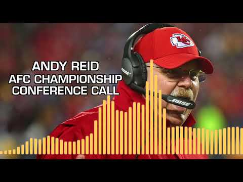 Video: Andy Reid Patriots vs. Chiefs AFC Championship Conference Call