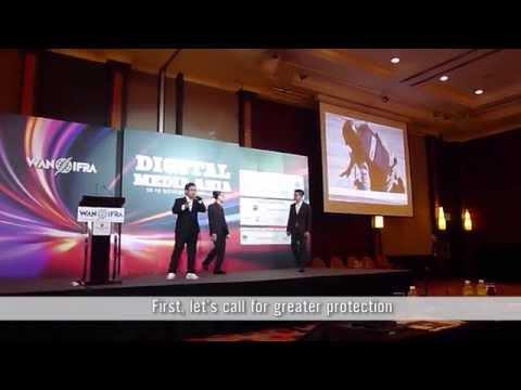 [Video] Trình diễn live RapNews tại Hội nghị Truyền thông Kỹ thuật số châu Á