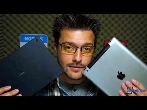 Sony Xperia Tablet Z vs Apple iPad