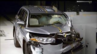 Crash Test Toyota Highlander  Качественная автоэлектроника по низким ценам!  http://bestcartest.ru/shop.htmТойота Хайлендер в новом кузове построен на шасси Тойоты Камри, о чем свидетельствует одинаковая колесная база 2790 мм. Но если у последней в технических характеристиках значатся подвески McPherson, то у кроссовера задний мост представляет собой многорычажную конструкцию от модели премиум-класса Lexus RX. От него же взята и многодисковая муфта для передачи крутящего момента за заднюю ось. По сравнению с моделью предыдущего поколения, Хайлендер с новым кузовом прибавил в размерах. Габариты 4865 х 1925 х 1730 мм говорят о том, что длина Тойоты увеличилась на 80 мм, ширина – на 15 мм, а высота осталась на схожем уровне.Итак результаты Crash Test:Краш тест проводился на скорости 40 миль/час (примерно 64 км/ч)Лобовое столкновение 25% перекрытия - 5 звёздыЛобовое столкновение 50% перекрытия - 5 звёздБоковое столкновение - 5 звёздИспытания крыши - 5 звёздСмотрите также:Crash Test AUDI Q7 2017  Краш Тест АУДИ КУ7 2017https://www.youtube.com/watch?v=_5b3HPE0714Краш Тест Hyundai Tucson - Crash Test Hyundai Tucsonhttps://www.youtube.com/watch?v=C53Y1BsA1DwKrash Test HONDA PILOT 2016  Краш тест новой Хонда https://www.youtube.com/watch?v=-YvmwCW5r70Crash Test Toyota Highlander  Краш Тест Тойота Хайлендерhttps://www.youtube.com/watch?v=NH_jab9S3pYKrash TEST AUDI Q5 2015https://www.youtube.com/watch?v=UhQCU3PlDcY♥♥♥♥♥♥♥♥♥♥♥♥♥♥♥♥♥♥♥♥♥♥♥♥♥♥♥♥♥♥♥♥♥ПОДПИСЫВАЙТЕСЬ на наш КАНАЛ!!! ♥♥          http://bit.ly/BestCarTest               ♥♥♥♥♥♥♥♥♥♥♥♥♥♥♥♥♥♥♥♥♥♥♥♥♥♥♥♥♥♥♥♥♥Наш сайт http://bestcartest.ru/Twitter      @BestCarTestFacebook  bestcartest♦♦♦♦♦♦♦♦♦♦♦♦♦♦♦♦♦♦♦♦♦♦♦♦♦♦♦♦♦♦♦♦♦♦♦♦♦♦♦♦♦♦♦♦♦♦♦♦♦♦♦♦♦♦♦♦♦♦♦♦♦♦♦♦♦♦♦♦♦♦♦♦♦♦♦♦♦♦♦♦♦♦♦♦♦♦♦♦♦♦♦♦♦♦♦♦ Качественная автоэлектроника по низким ценам!  http://bestcartest.ru/aliexpress.htm