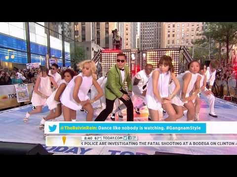 """HD Live """"PSY – Gangnam Style"""" (강남스타일) on NBC's Today Show Sep. 14th 2012"""