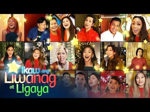 """ABS-CBN Christmas Station ID 2020 """"Ikaw Ang Liwanag At Ligaya"""" Recording Lyric Video"""