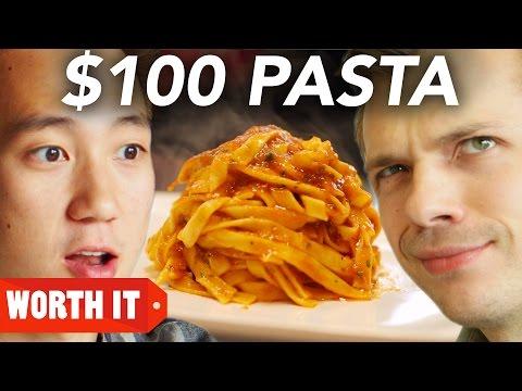 8 Pasta Vs 100 Pasta