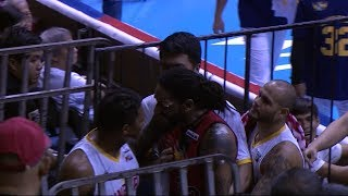 Halftime scuffle | PBA Commissioner's Cup 2018