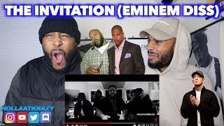 THE INVITATION (EMINEM DISS) - NICK CANNON & FRIENDS ft SUGE KNIGHT  NOT BAD BUT NOT GOOD   REACTION