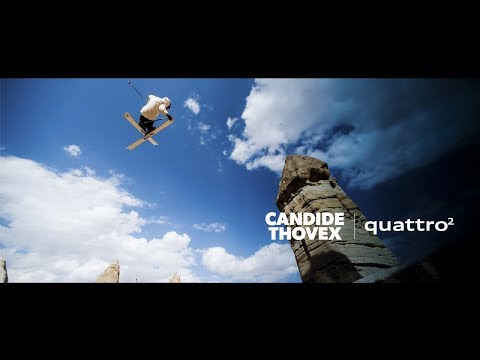 Candide Thovex skiing everywhere. Literally.