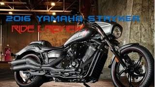 6. 2016 Yamaha Stryker / FJR1300ES Ride & Review