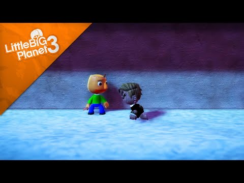 LittleBigPlanet 3 - Hello neighbor vs Baldi