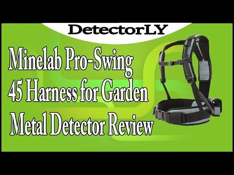 Minelab Pro Swing 45 Harness for Garden Metal Detector Review