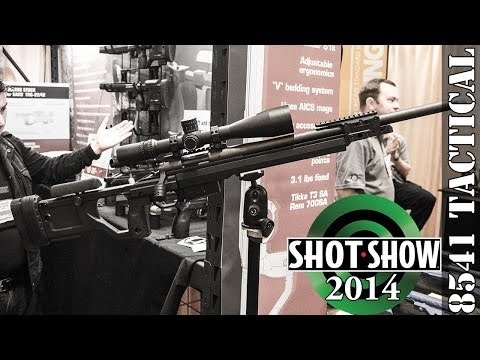 SHOT Show 2014 Kinetic Research Group (KRG) X-Ray And Whiskey 3 Chassis