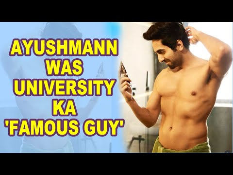 Ayushmann Khurrana shares throwback pic from college days