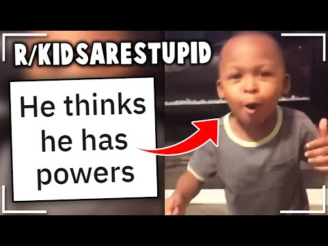 r/kidsarestupid | You can make them believe ANYTHING