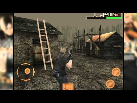 Resident Evil 4 : Mobile Edition IOS