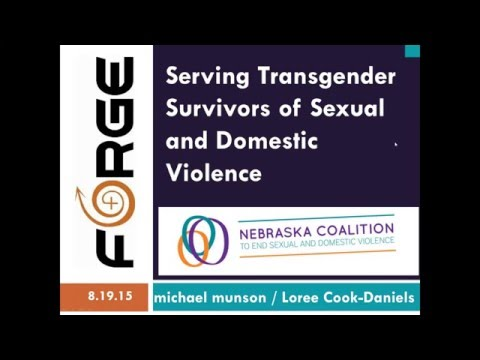 [Webinar] Serving Transgender Survivors of Sexual and Domestic Violence