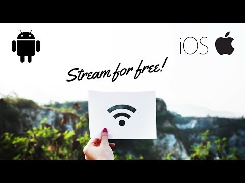 Stream from iPhone and Android to TV FOR FREE
