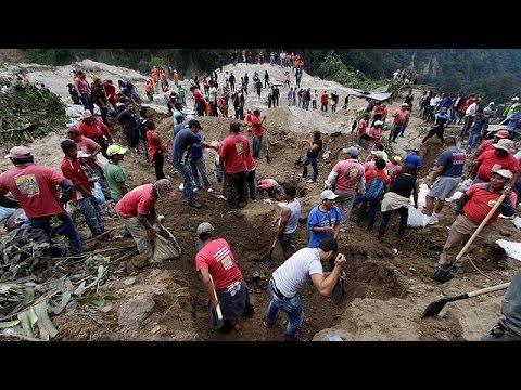Γουατεμάλα: Αυξάνεται ο αριθμός των θυμάτων από τη μεγάλη κατολίσθηση