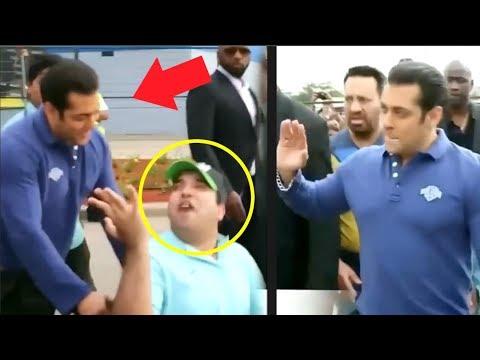 Salman Khan Sees A Handicap FAN What He Does Next Will Melt Your Heart