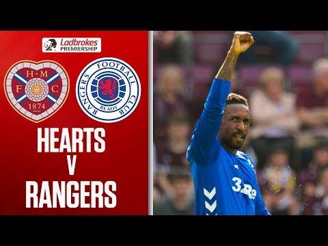 Hearts 1-3 Rangers   Defoe Scores to Delay Title Celebrations   Ladbrokes Premiership